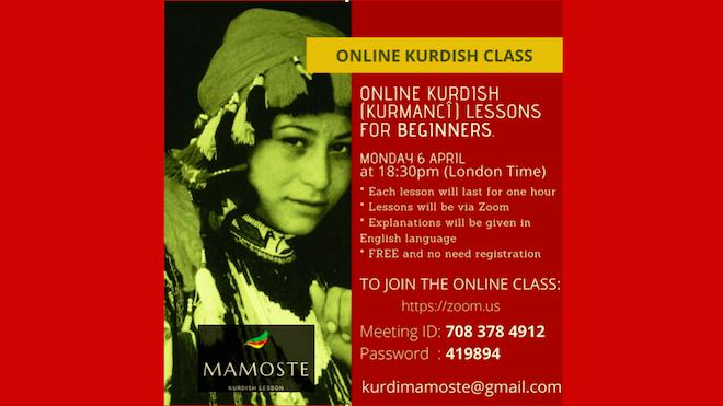 Herkes için online Kürtçe dersler